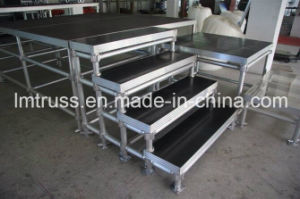 Ry Adjustable Aluminum Stage with Steps pictures & photos