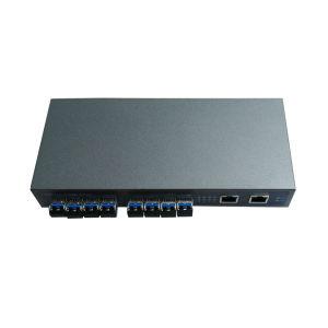 8 *SFP + 2*10/100/1000Mbps RJ45 Por Full Giga Network Fiber Switch (TS0801G) pictures & photos
