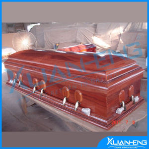 Paulownia Oak Wood American Caskets Coffin pictures & photos