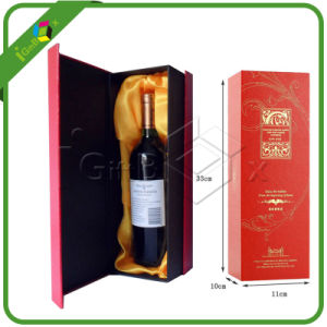 High End Wine Bottle Glass Display Box with Insert pictures & photos