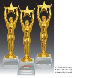 Hot Sale Resin Figure Trophy for Sports and Event