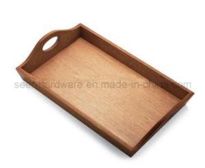 Rectangle Shape Oak Wood Serving Tray (SE-061) pictures & photos