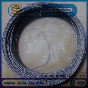 Factory Price Hot Sale 0.76mm Twisted Tungsten Wire in Making Coiled Coil and Filaments pictures & photos