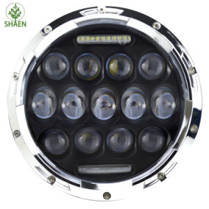7 Inch 75W LED Headlight for Jeep pictures & photos