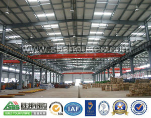 China High Quality Economic Prefabricated Modular Steel Structure Warehouse Building pictures & photos