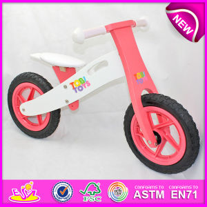 Stock! ! ! ! 2014 Stock Wooden Bicycle Toy for Kids, Stock Wooden Bike Toy for Children, Wooden Balance Bicycle Set for Baby Factory W16c088 pictures & photos
