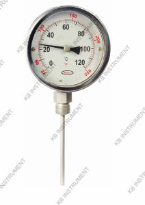 All Stainless Steel Bimetal Thermometer Bottom Connection pictures & photos