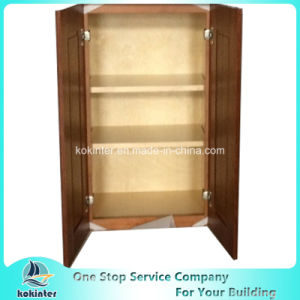 American Style Kitchen Cabinet Bamboo Shaker W2430 pictures & photos