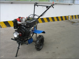 Diesel Electric Power Tiller with Light and Cover (1WG6.3-3) pictures & photos