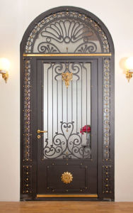 Super Quality Full Round Decorative Entry Door for Villa pictures & photos