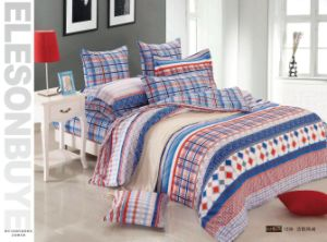 100% Cotton Reactive Printed Bedding-4PCS