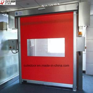 Reset Zipper Door Self Repairing High Speed PVC Industrial Door pictures & photos