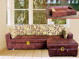 Sofa Bed - Home Style (D27#) pictures & photos