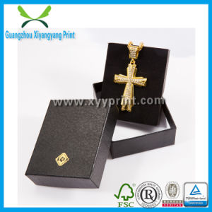 Custom Logo Printed Folding Paper Jewelry Necklace Box pictures & photos