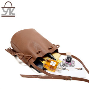 Fashion Leisure PU Leather Ladies Shoulder Bucket Bag pictures & photos
