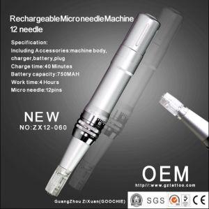 Rechargeable Dermapen Micro Needle Pen Therapy Machine 12 Needles (ZX12-060) pictures & photos