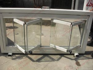 Standard Aluminum Glass Bi-Folding Window (BHA-FW05) pictures & photos