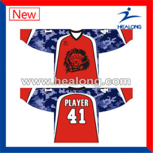 Dye Sublimated Printing Ice Hockey Jerseys with High Quality pictures & photos