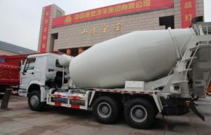 HOWO 6*4 8m3 Concrete Mixer Truck pictures & photos