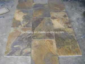 Rusty Slate Tile for Floor Wall Cladding Paving pictures & photos