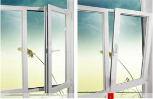 Double Glazed Aluminum Profile Casement Tilt and Turn Window pictures & photos