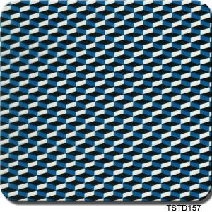 Tsautop Tstd157 1m Width Carbon Design Aqua Print Hydrographic Film pictures & photos