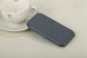 Leather Case for Samsung S4, 9500 pictures & photos