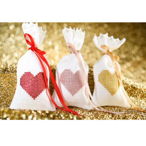 Linen High Quality Woven Candy Bag pictures & photos