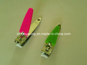 Finger Nail Clipper with Silicon Cover N-602h (sg) pictures & photos