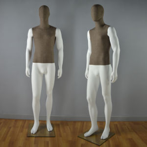 Fabric Wrapped Male Mannequin for Window Display pictures & photos