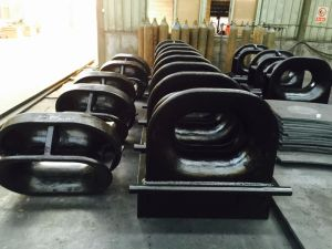 Marine DIN Standard Type D Mooring Chock pictures & photos
