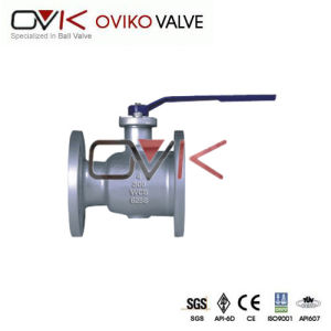 API6d1PC/Piece Flanged End Carton/Stainless Steel Threaded Screw Ball Valve