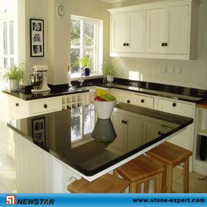 China Black Granite Kitchen Countertops China Black