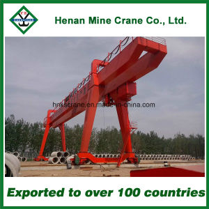 Double Beam Electric Long Traveling Gantry Crane for Container (MG) pictures & photos