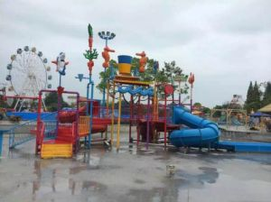 Used Fiberglass Water Slide for Sale/Water Park Design pictures & photos