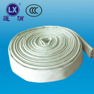 Durable Fabric Fire Hose Pipe Used in Hose Cabinet with Nozzle pictures & photos