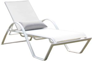 Modern Euro Outdoor Patio Furniture Garden Aluminum Sling Chairs pictures & photos