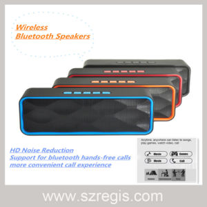 Multi-Function Stereo Wireless Bluetooth Speaker Support FM/TF/U-Disk pictures & photos