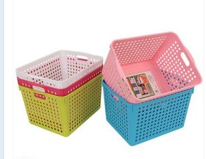 Hotsale Household Stackabletoy Plastic Storage Basket pictures & photos