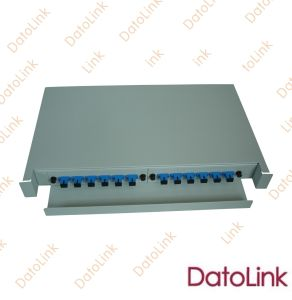 "Slidable Rack Mount Type Patch Panel 12 Cores/ODF/19"" Patch Panel pictures & photos"