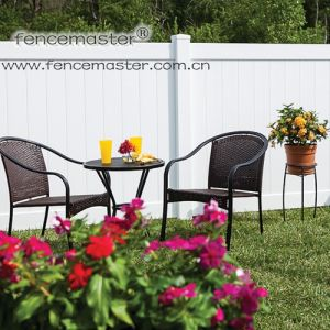 PVC Fencing with Standard Decorative Section Cap pictures & photos