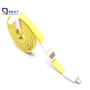 100cm Flat Single Side Magnetic USB Cable for Samsung pictures & photos