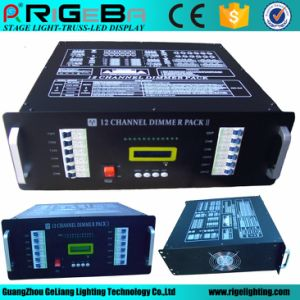 LED Stage Lighting Control Product 6CH 1kw Digital Dimmer Pack pictures & photos