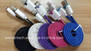 Mesh Braided Lightning to USB Data Cable pictures & photos
