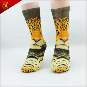 Sublimation Print Adult Socks Custom Made pictures & photos
