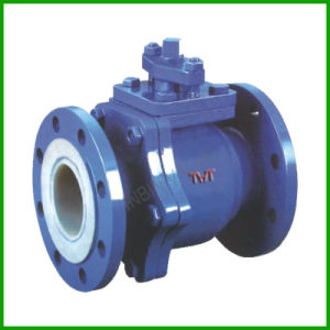 PTFE Flange Type Ball Valve Plastic Ball Valve pictures & photos