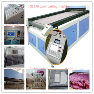 Auto CCD Fabric Shape Cutting Machine with 180W Laser Power pictures & photos