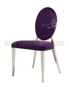 Classic Luxurious Fabric Dining Chair (NK-DC014) pictures & photos