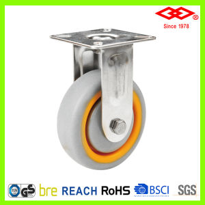 50mm Stainless Steel Ball Bearing TPR Caster (D114-34E050X20) pictures & photos