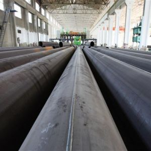API5l Straight Welded Seam Steel Pipe / ERW LSAW Pipe